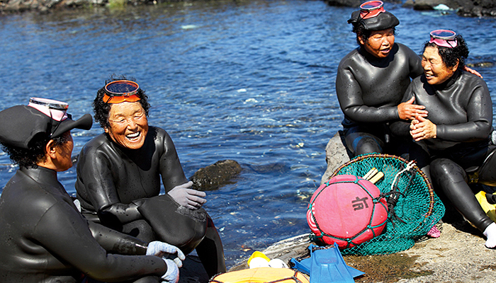 Điều đáng bất ngờ là phần lớn các haenyeo ở Jeju là phụ nữ trung niên.