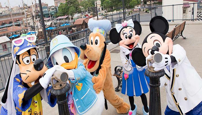 Bạn có thể dắt bé nhỏ nhà mình đến vui chơi thỏa thích tại Tokyo Disneyland-Disneysea nhé. Nguồn: tokyodisneyresort.jp