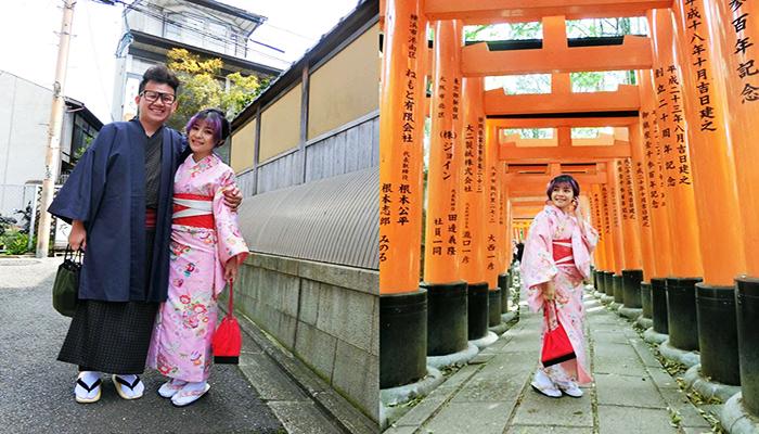 Thử khoác lên mình bộ kimonno truyền thống và dạo bước trên những con phố cổ vùng Asakusa hẳn sẽ là một trải nghiệm khó quên đấy. Nguồn: ytimg.com