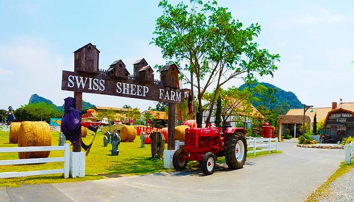 Trang trại cừu Thụy Sĩ