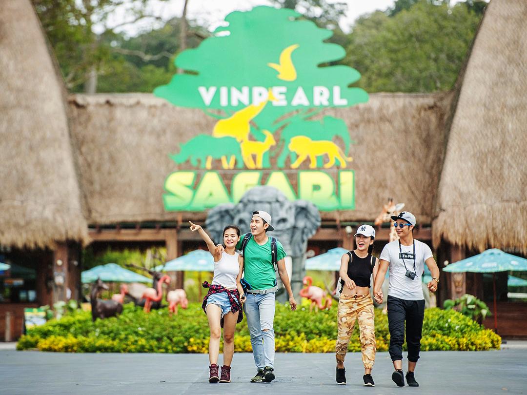 1 ngày cho cả 2 nơi: Vinpearl Land và Vinpearl Safari tại Phú Quốc