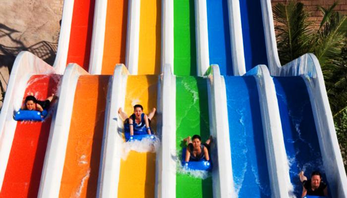 Đường trượt siêu tốc của công viên nước. (Nguồn: blooloop.com)