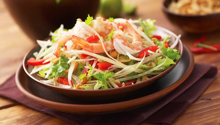 Các đặc sản tại Thái lan luôn hấp dẫn với nhiều màu sắc.