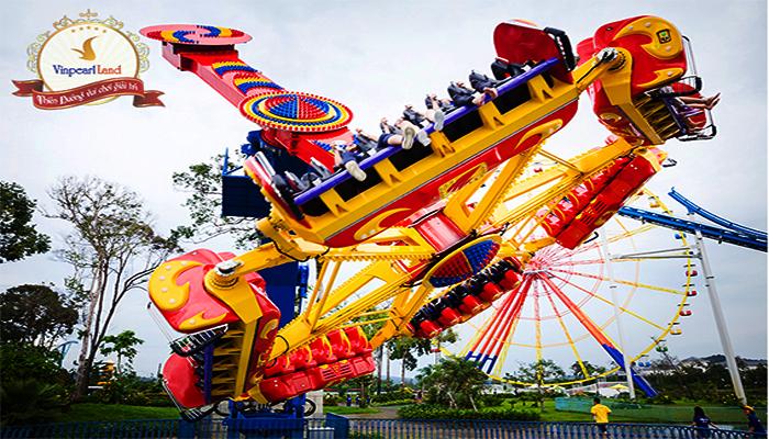 Topspin khá mạo hiểm của công viên. (Nguồn: tugo.com.vn)
