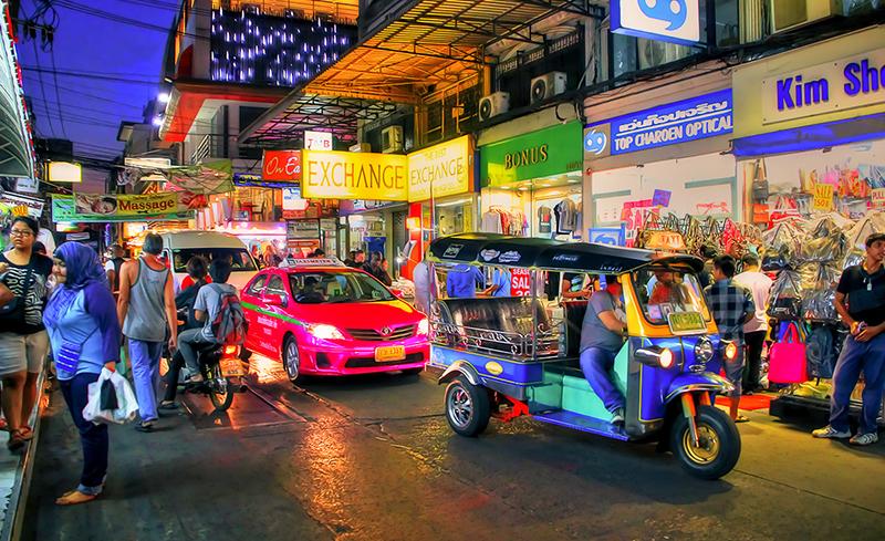 Cam nang du lich bangkok - xe tuk tuk