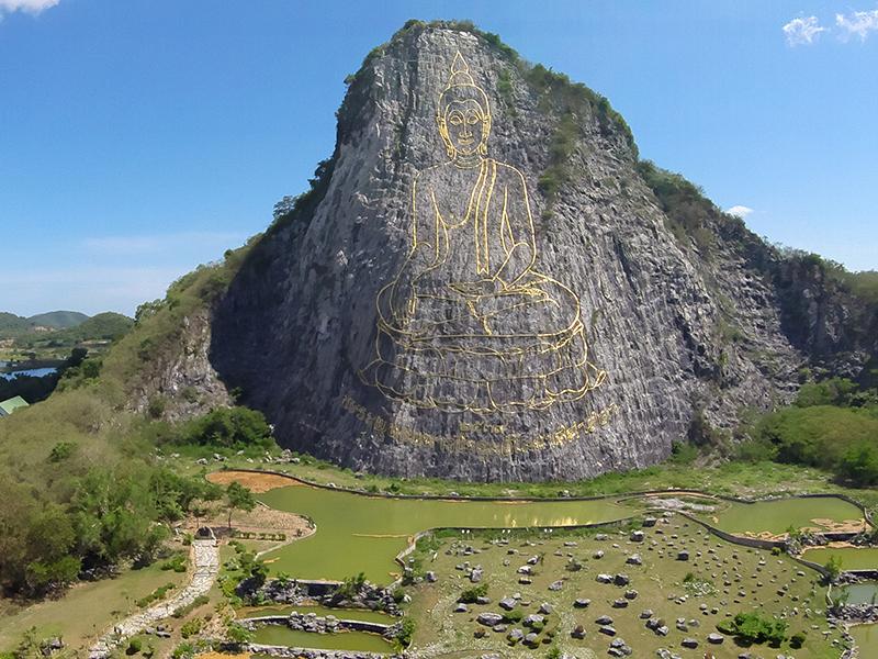 Núi Phật Vàng Khao Chi Chan Pattaya