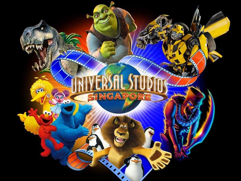Kinh nghiem di universal studio singapore - Công viên chủ đề Universal Studios Singapore