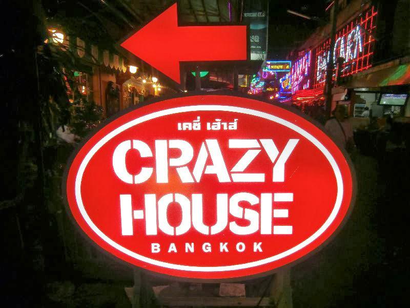 Go Go Bar Crazy House Bangkok