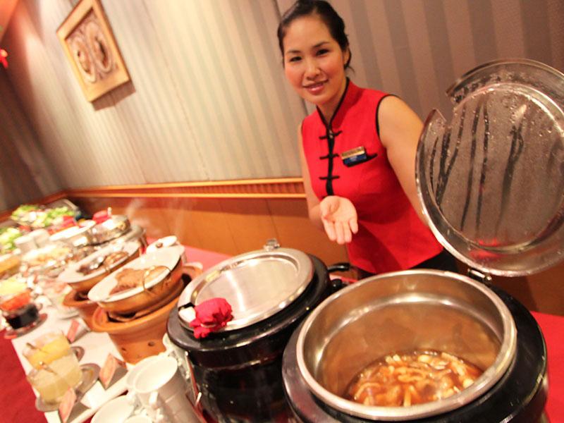 Một góc của Buffet 5 sao Stella Palace International Caravan Baiyoke - Bangkok Sky