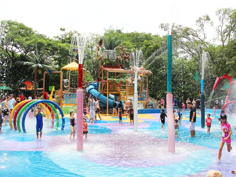 Khu vui chơi dành riêng cho trẻ em Rainforest Kidzworld.