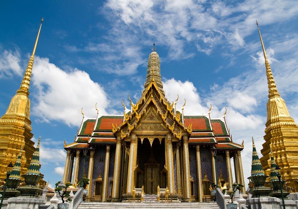 Chùa Phật Ngọc trong khuôn viên Hoàng Cung
