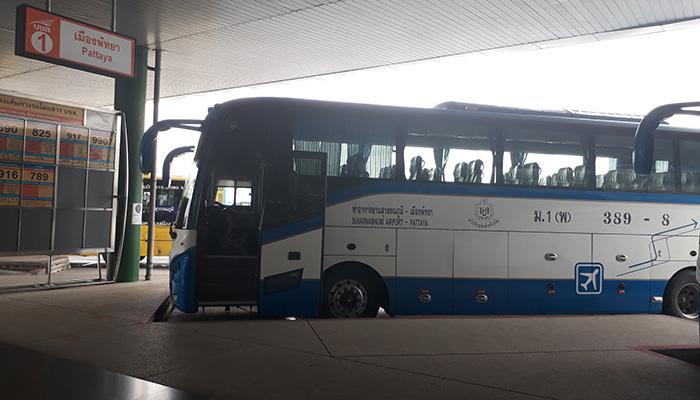 Bus đến Pattaya sạch sẽ và chạy khá êm