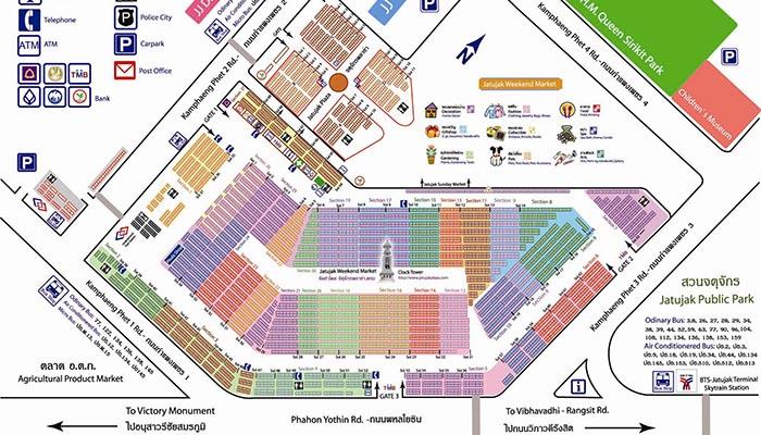 bản đồ chatuchak