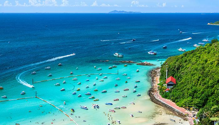 đảo coral pattaya