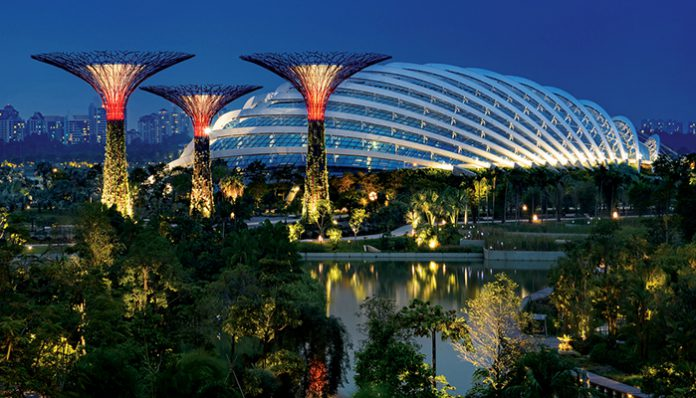 du lich singapore tu tuc cung tre nho gardens by the bay