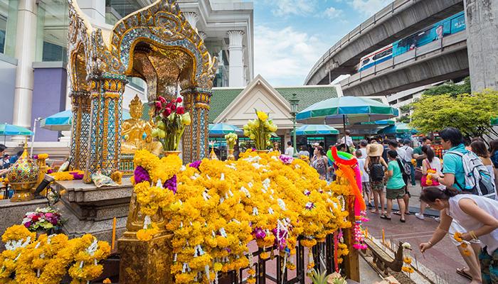 đền erawan bangkok