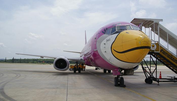 máy bay đến krabi