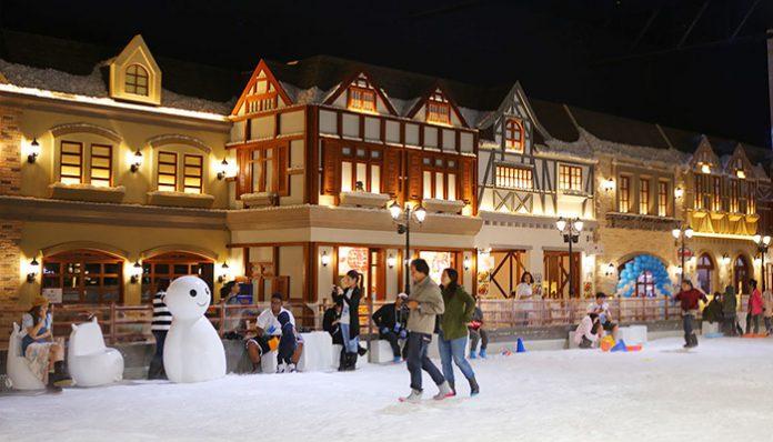 thị trấn tuyết snow town