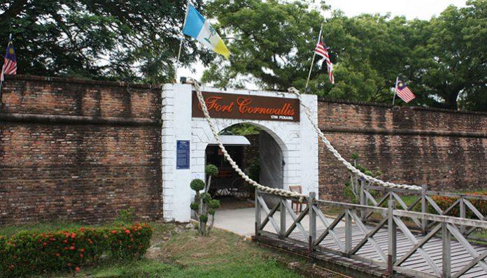 penang fort cornwallis