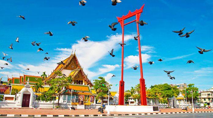 khám phá khu phố cổ Bangkok Rattanakosin