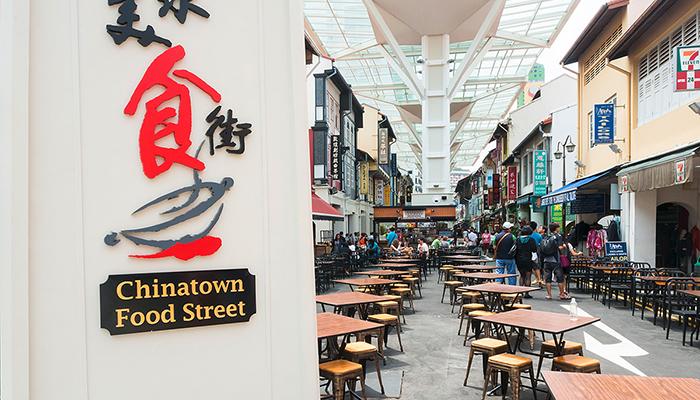 thức ăn chinatown