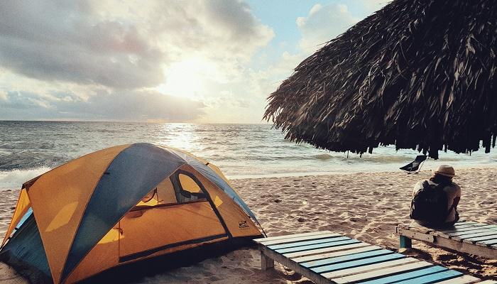 Ngủ lều tại Phú Quốc
