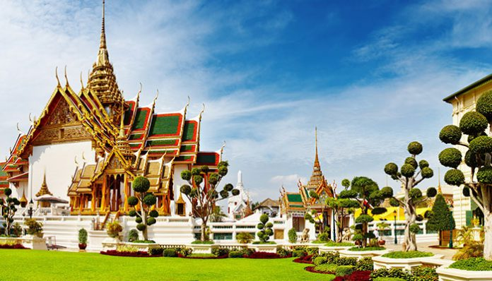 hoàng cung bangkok