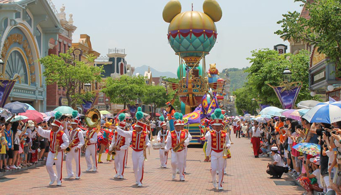 nên đi Disneyland Hong Kong lúc nào