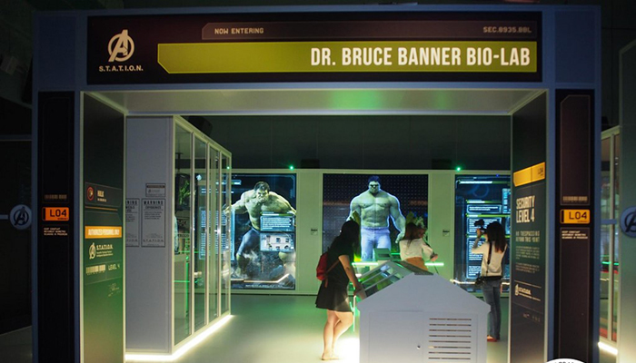 science center - hulk