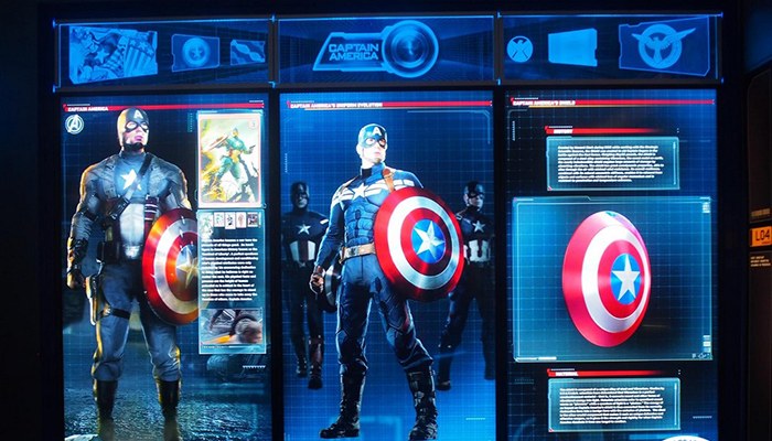 science center - captain american