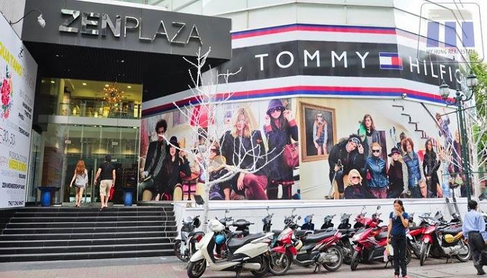 Khu mua sắm đường Nguyễn Trãi