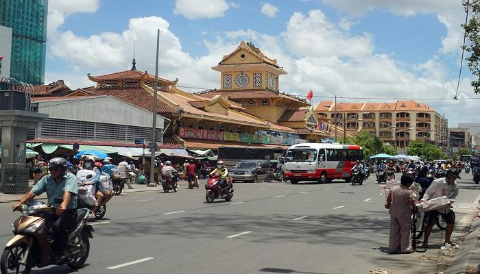 Khu chợ Lớn