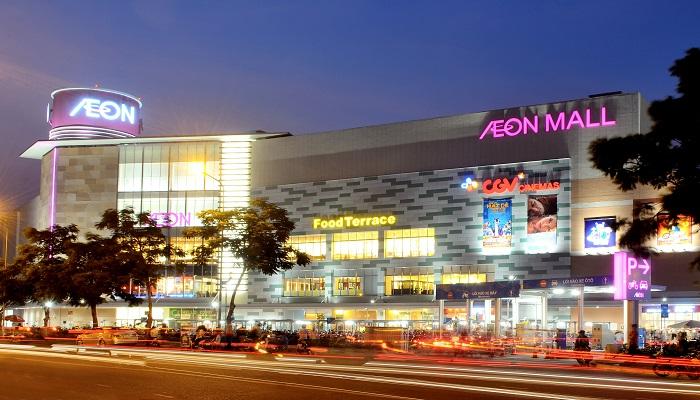 Toàn cảnh khu Aeon Mall Tân Phú Celadon