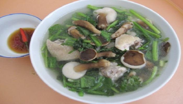 Canh nấm tràm Phú Quốc