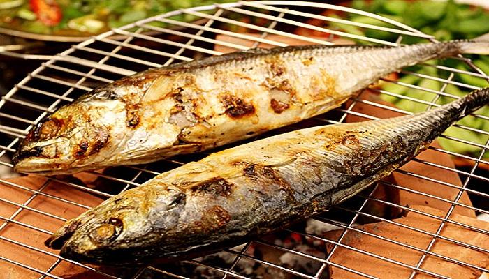 Cá sòng Phú Quốc nướng mọi