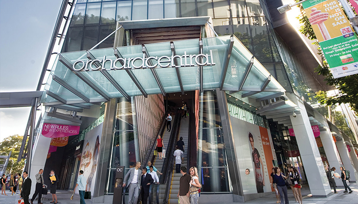 top 10 dia chi mua sam o orchard road Singapore orchard central