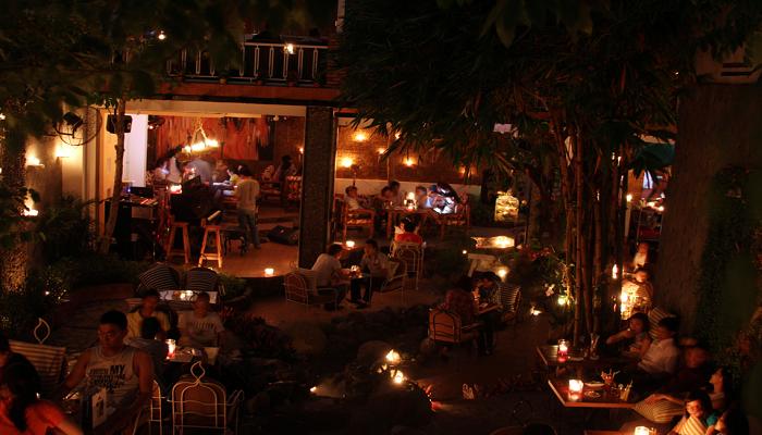 Cafe nhạc sống Sài Gòn