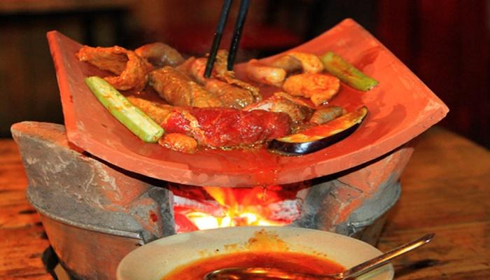 Thịt nướng ngói Đà Lạt