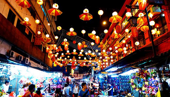 phố trung hoa chinatown kl