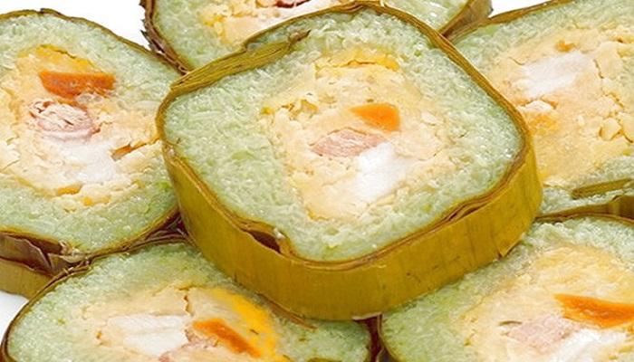 Bánh tét mật cật ở Phú Quốc