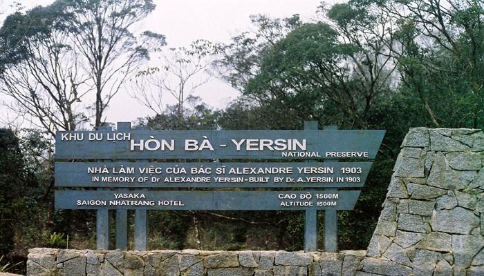 Khu du lịch Hòn Bà - Yersin