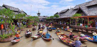 Chợ nổi 4 vùng Pattaya