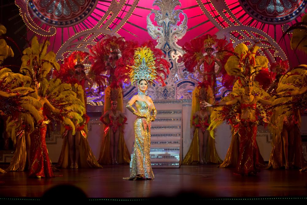 Lady boy 's show là một trong những đặc sản của du lịch Thái