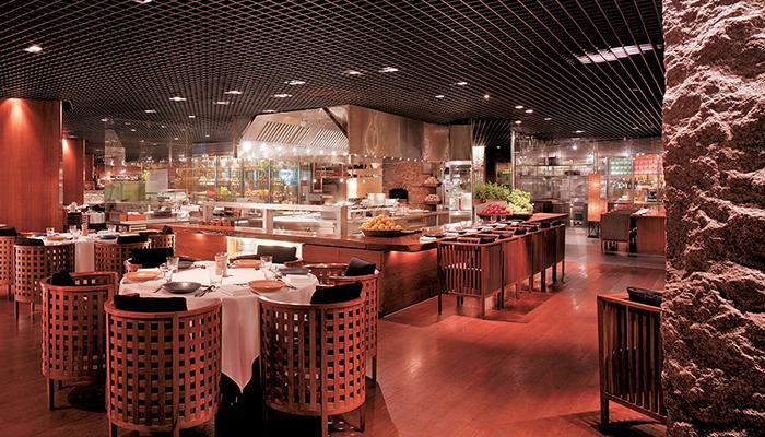 buffet ở mezza