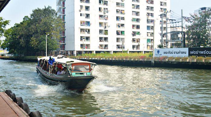 Khám phá Bangkok theo dòng kênh Saen Saeb
