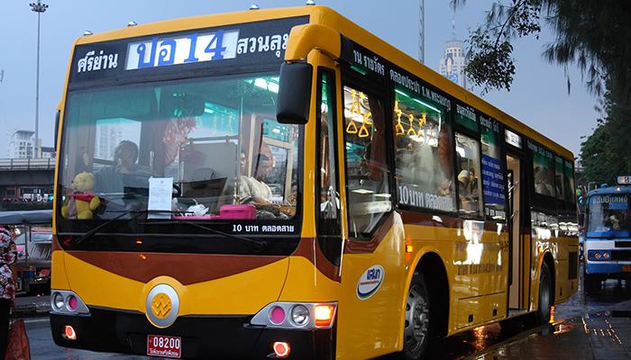 xe bus ở bangkok