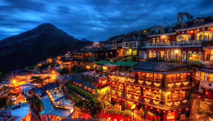 Review làng cổ Cửu Phần - Thập Phần Đài Bắc