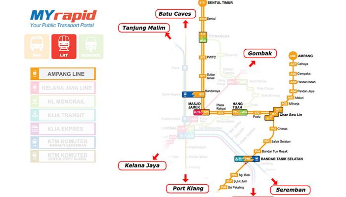 LRT tuyến ampang