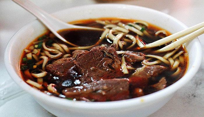Súp mì bò trên đường Taoyuan