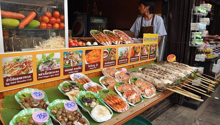 lịch trình du lịch bangkok - chợ nổi Ayutthaya